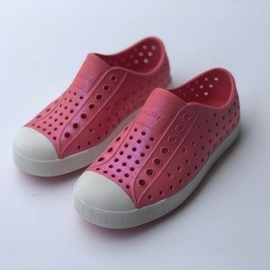 Native Shoes | Shiny Pink Slip On Shoes